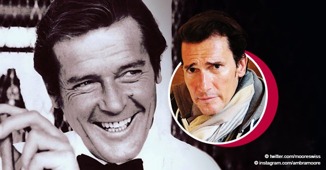 'James Bond' star Roger Moore's son is the spitting image of his father