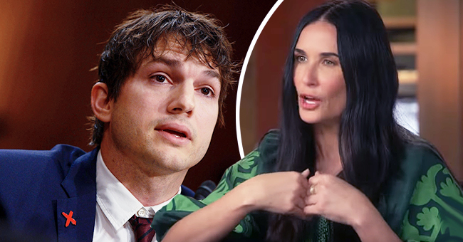 'Ranch' Star Ashton Kutcher Appears to React after Demi Moore Talks about Their Marriage in Memoir