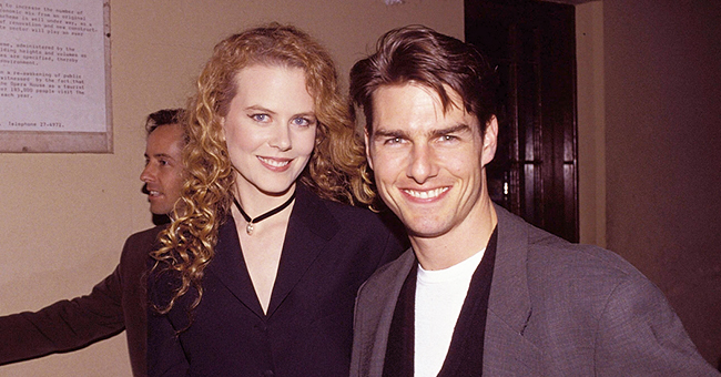 Tom Cruise and Nicole Kidman's Daughter Bella Hugs Baby Brother Connor in a Rare Childhood Photo