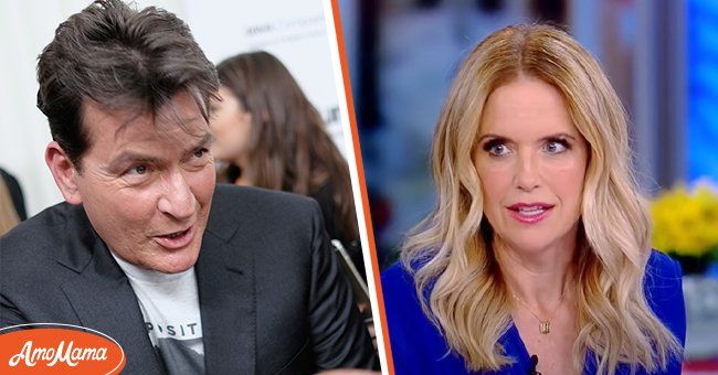 Picture of Charlie Sheen and Kelly Preston | Photo: Getty Images