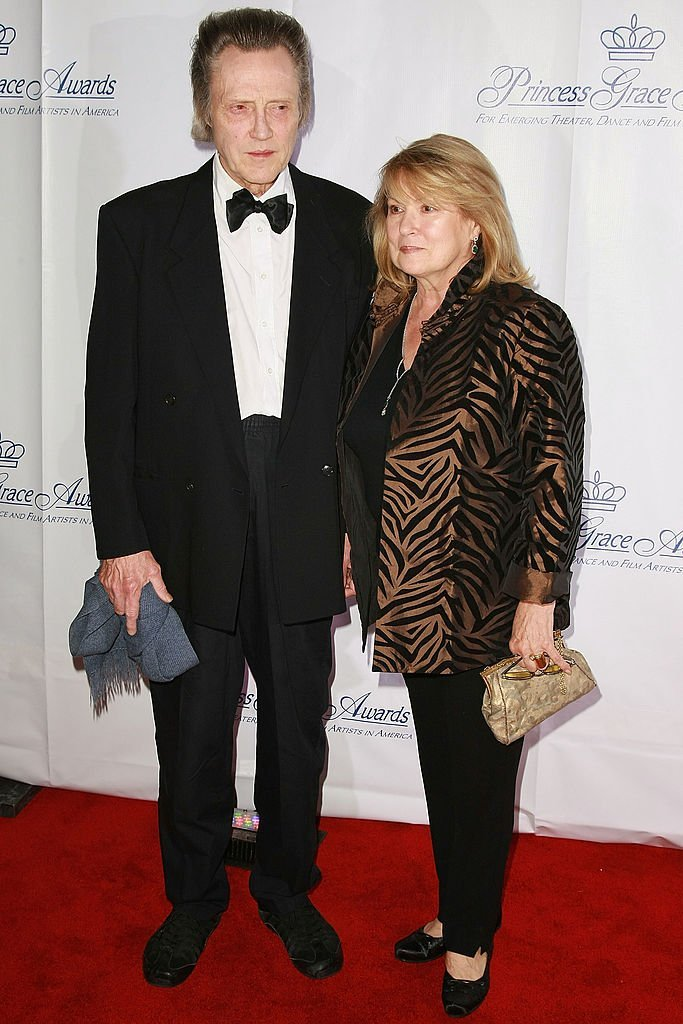 Christopher Walken and wife Georgianne Walken attend the 2008 Princess Grace Awards Gala at Cipriani 42nd Street | Getty Images