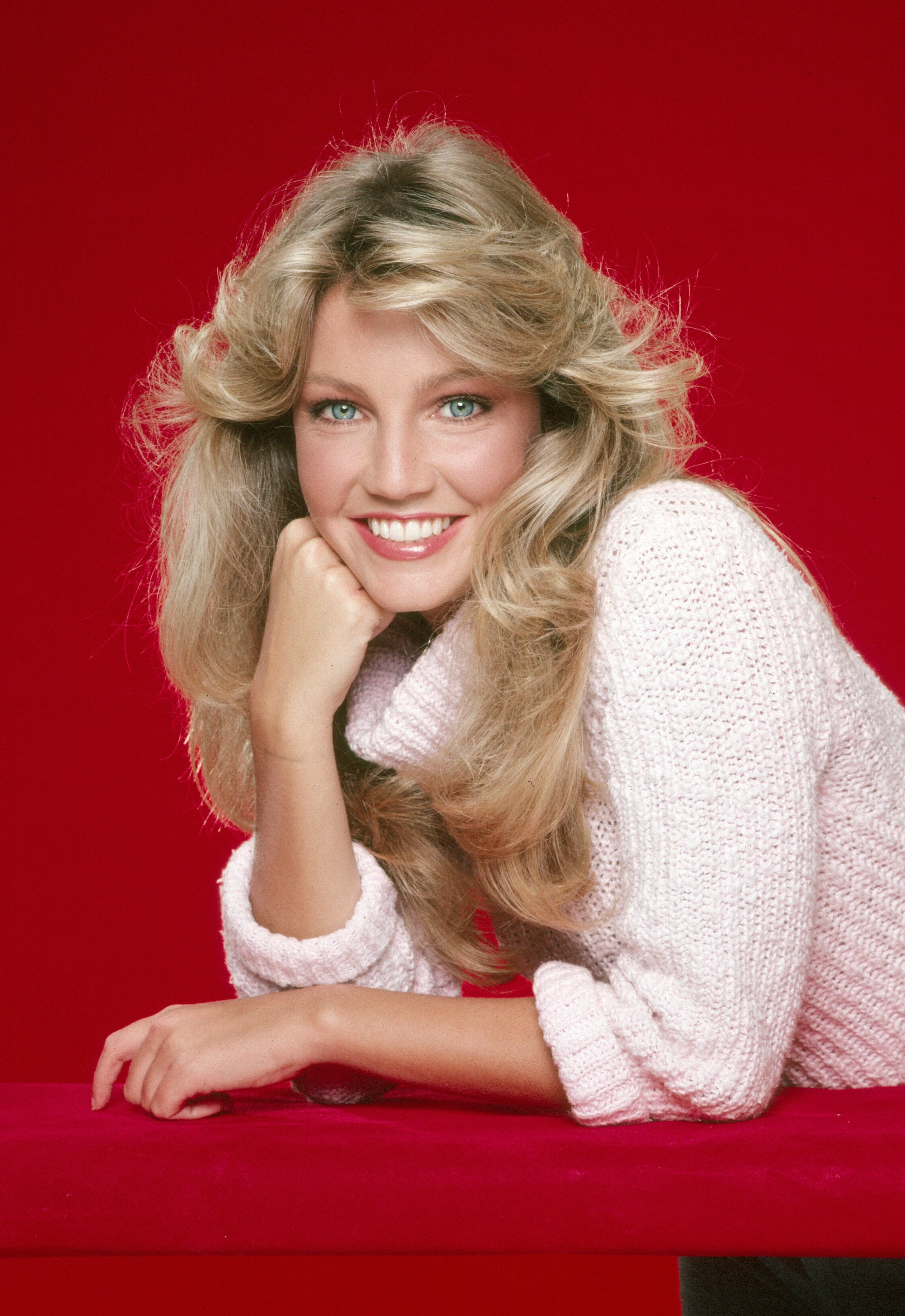 Heather Locklear in a 1981 fashion shoot. | Source: Getty Images
