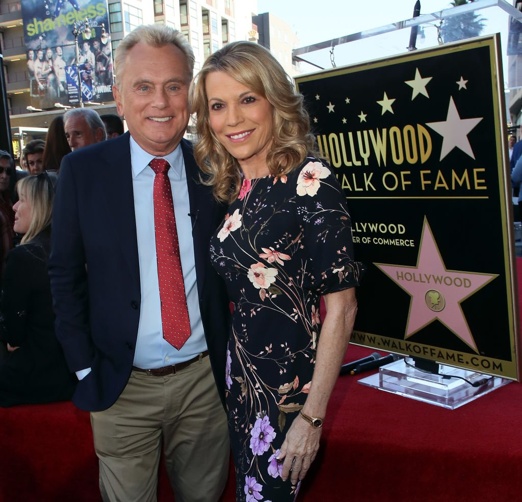 Pat Sajak and Vanna White attend Harry Friedman being honored with a Star on the Hollywood Walk of Fame on November 01, 2019   Photo: Getty Images