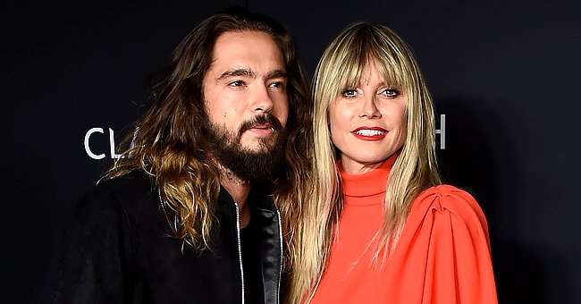 Heidi Klum Licks Face of Sleeping Husband Tom Kaulitz, 31, as They Cuddle in Bed in a Halloween Clip