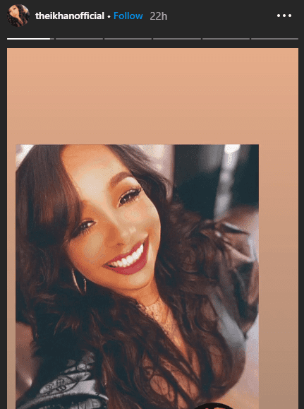 Chaka Khan's daughter Indira smiles in a selfie.   Source: Instagram/theikhanofficial