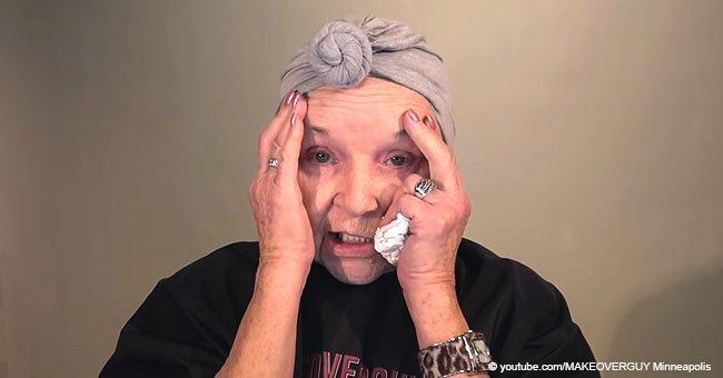 78-jährige Frau verrät ihre tägliche Make-Up-Routine und das Ergebnis ist atemberaubend