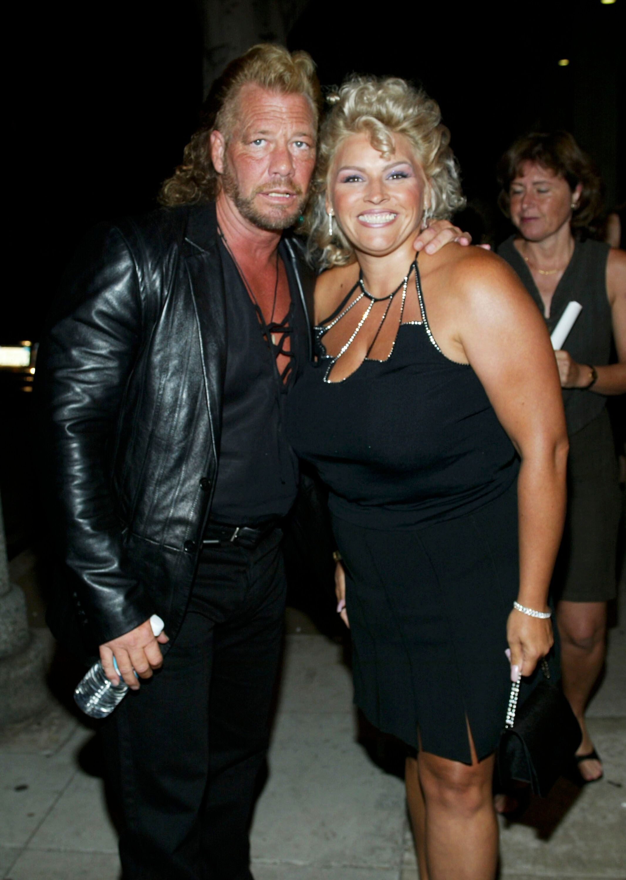 """Duane Chapman and his wife Beth at the premiere of """"How It all Went Down"""" 