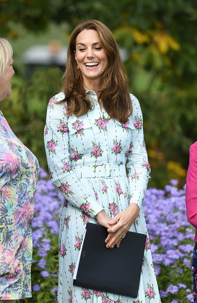 """Katherine, Duchess of Cambridge attends the """"Back to Nature"""" festival at RHS Garden Wisley in England.