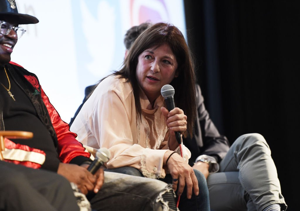 """Catherine Keener attends the Aero Theatre's special screening and Q&A of """"Get Out"""" at the Aero Theatre on February 24, 2018. 