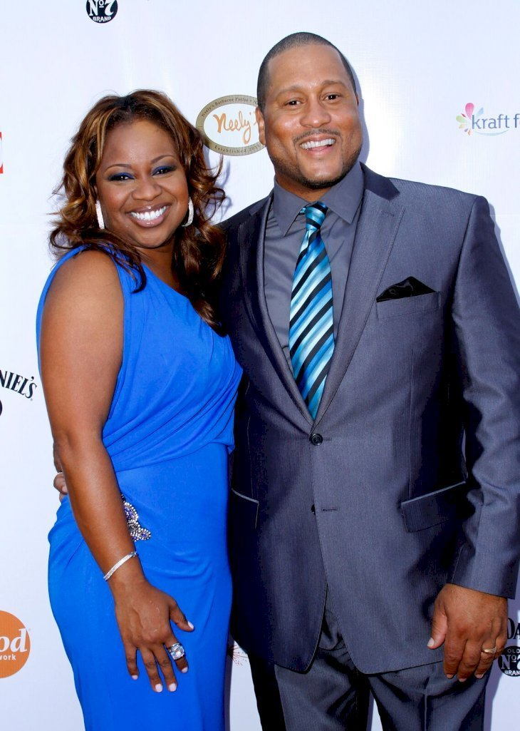 Pat and Gina at the grand opening of Nelly's Barbecue Parlor on July 12, 2011 in New York   Source: Getty Images