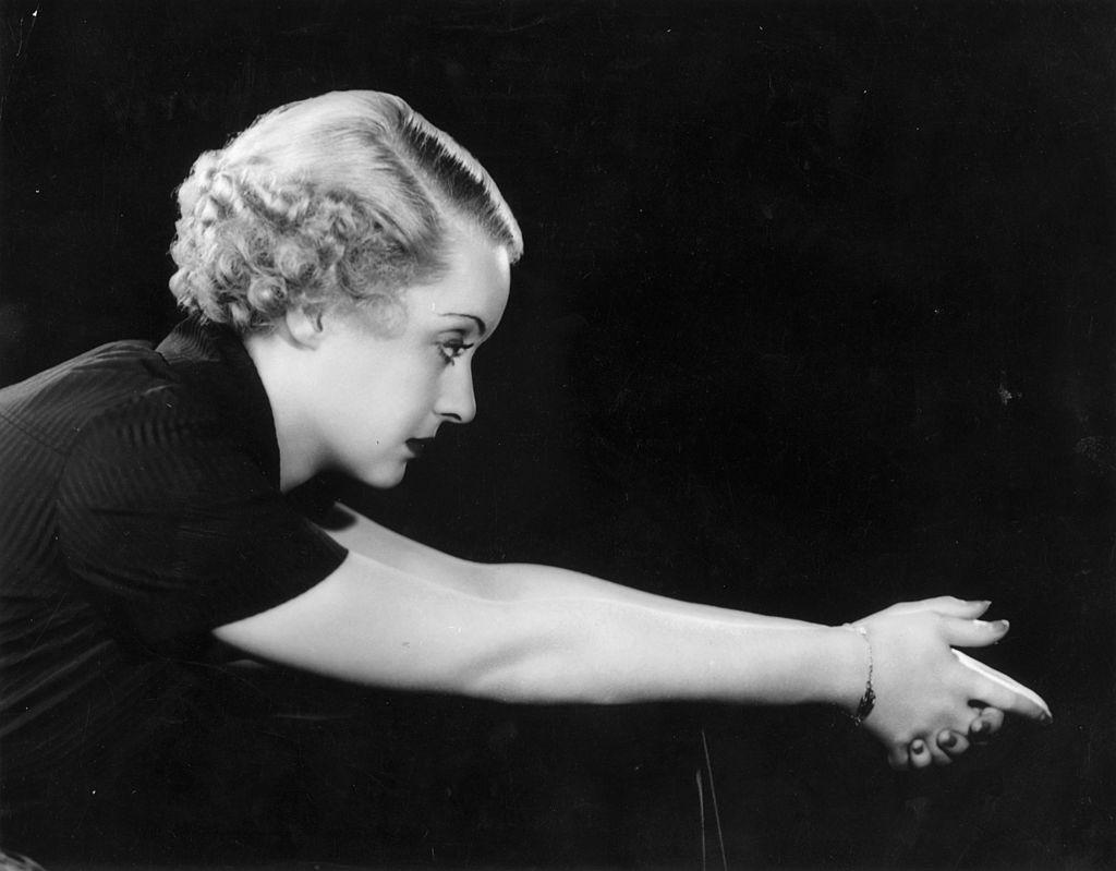 Actriz de cine Bette Davis (1908 - 1989).  Fuente: Getty Images