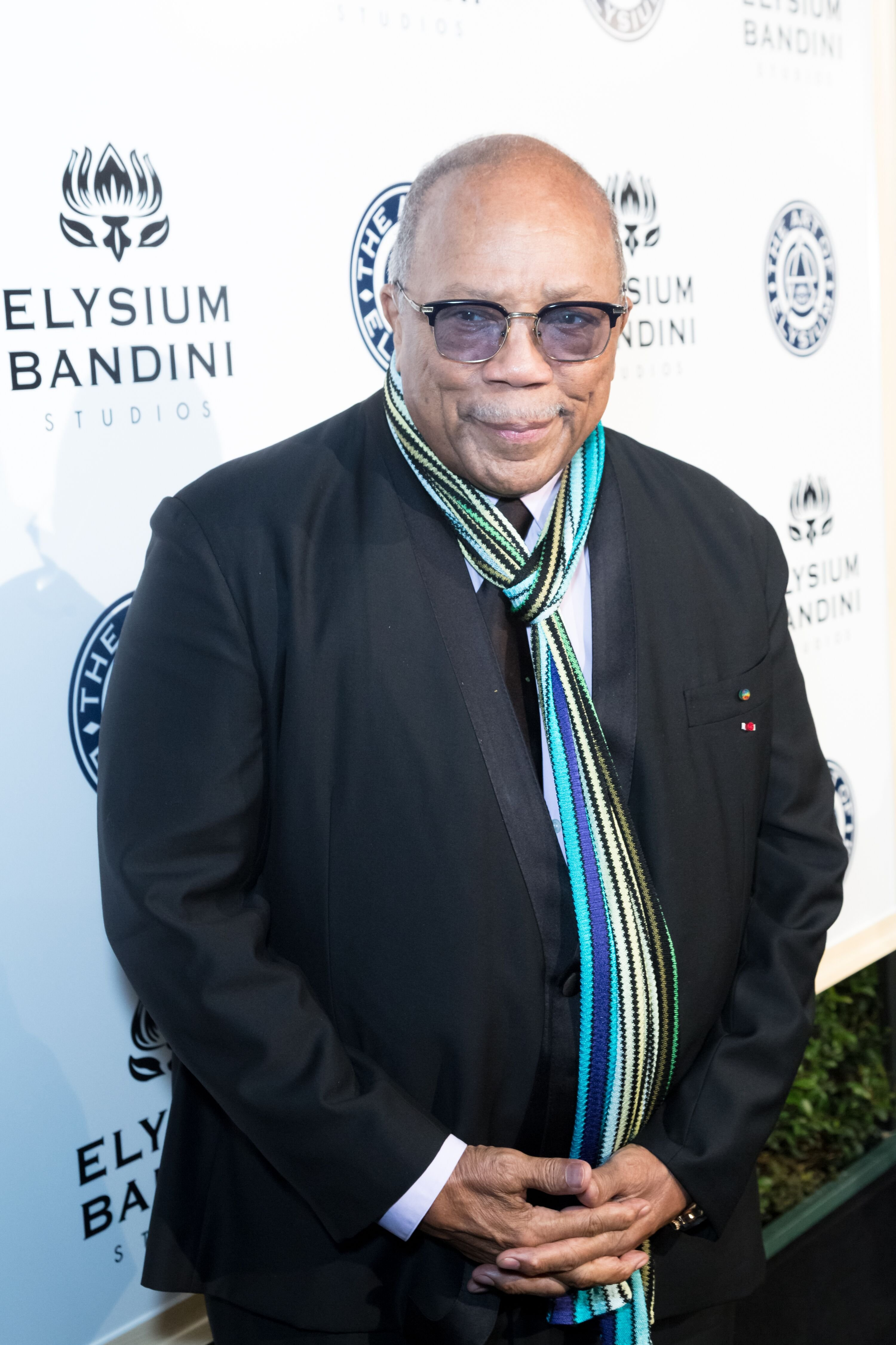 Qunicy Jones at The Art of Elysium Presents Stevie Wonder's HEAVEN at Red Studios on January 7, 2017 in Los Angeles, California. | Photo: Getty Images
