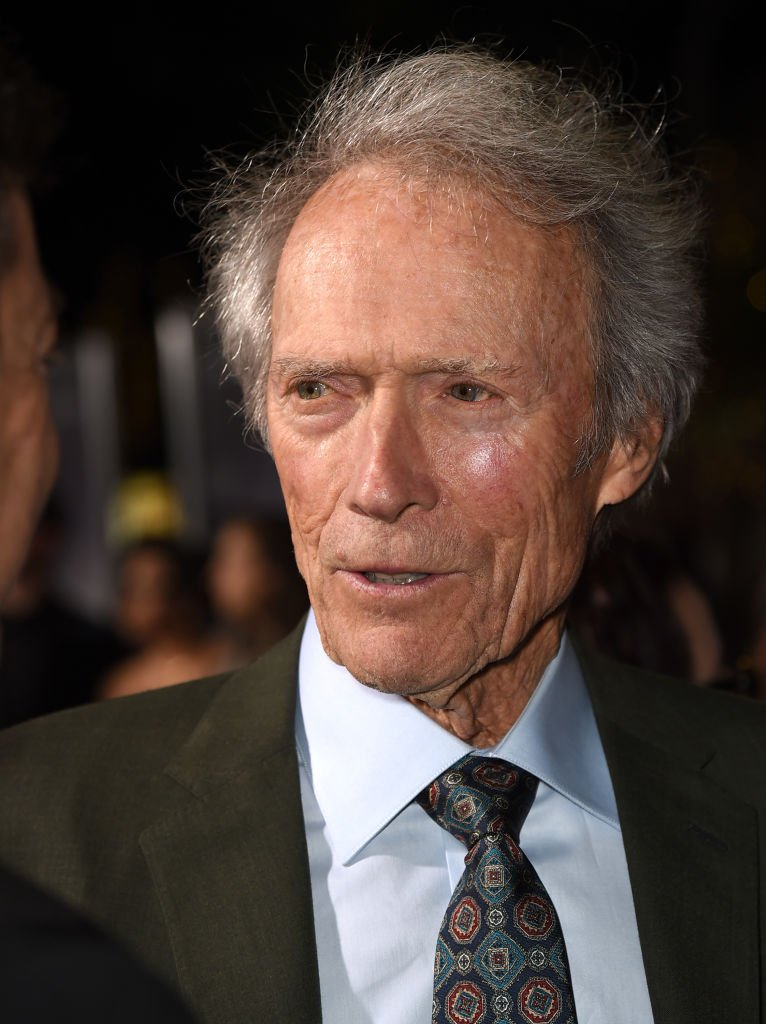 """Clint Eastwood arrives at the premiere of Warner Bros. Pictures' """"The Mule"""" at the Village Theatre. 