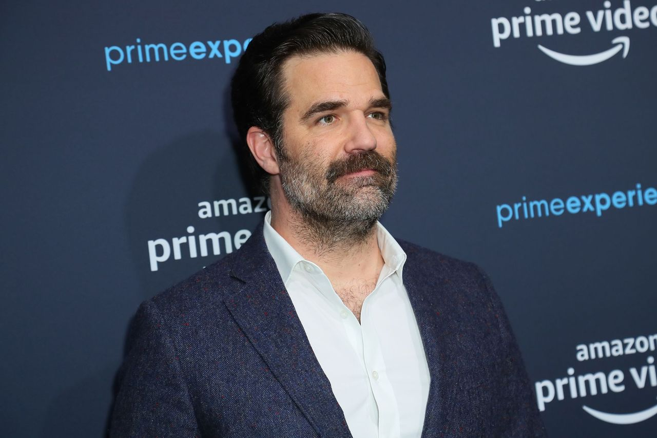 "Rob Delaney attends a ""Catastrophe"" FYC screening and panel hosted by Amazon Prime Experience at Hollywood Athletic Club on April 18, 2019 in Hollywood, California. 