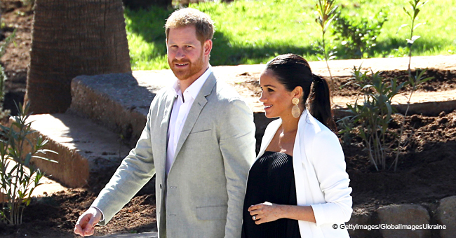 Meghan Markle and Harry Unveil Unseen Pic from Africa of Fitting a Tracking Collar to an Elephant