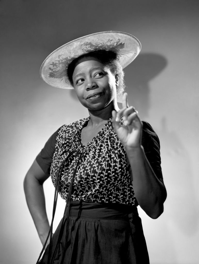 """Butterfly McQueen for """"The Danny Kaye Show"""" in 1945   Source: Getty Images"""
