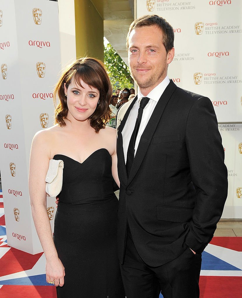 Claire Foy and Stephen Campbell Moore arrive at the Arqiva British Academy Television Awards 2012 | Getty Images