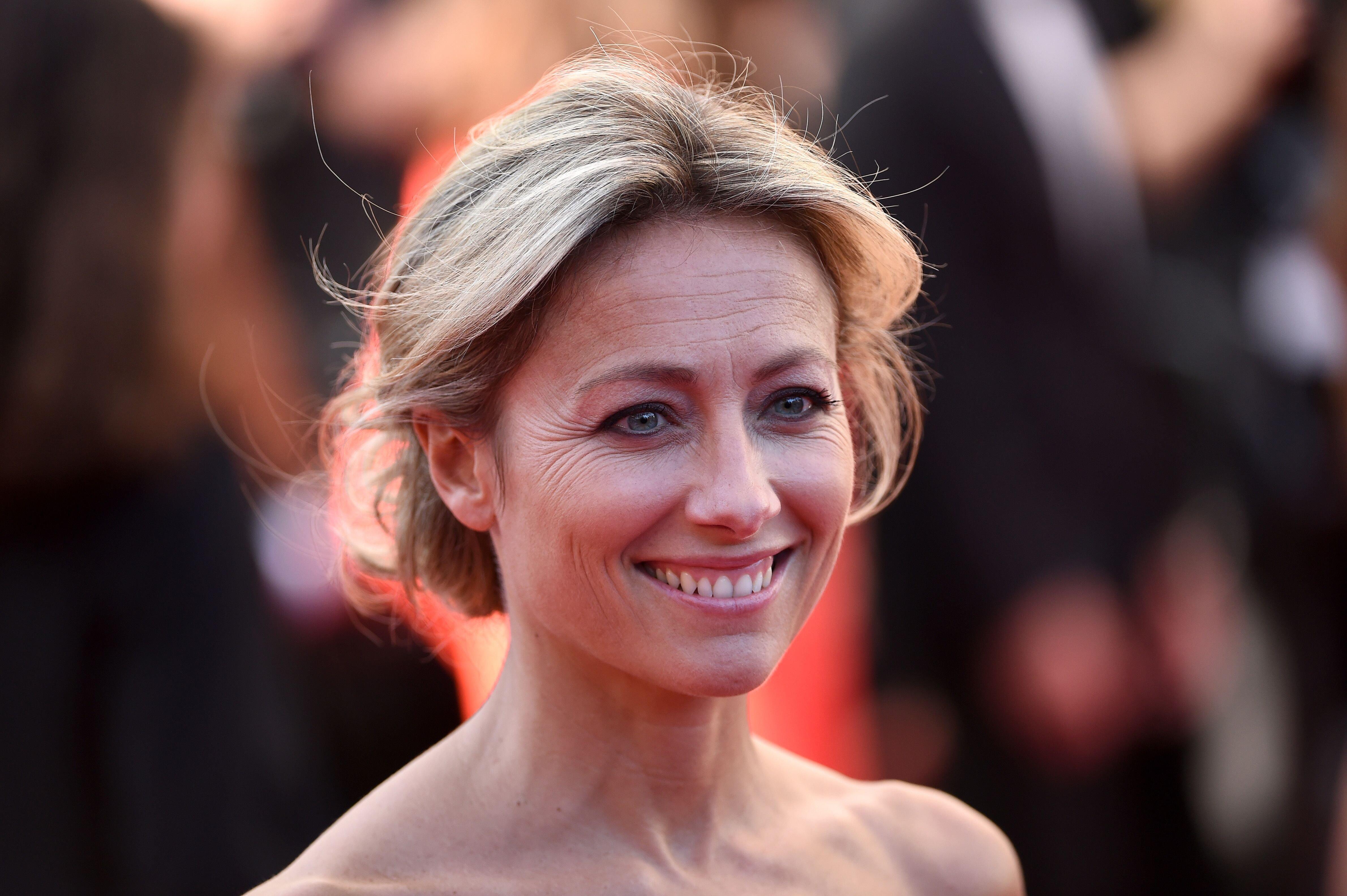 La journaliste Anne-Sophie Lapix. l Source : Getty Images