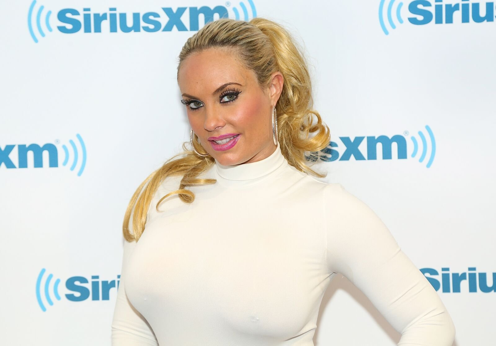 Coco Austin visits SiriusXM Studios on December 4, 2014. | Photo: Getty Images