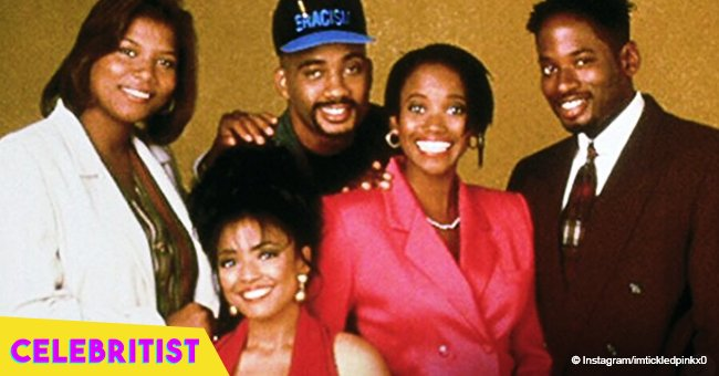 'Living Single's Erika Alexander and TC Carson share pic together on the show's 25th anniversary