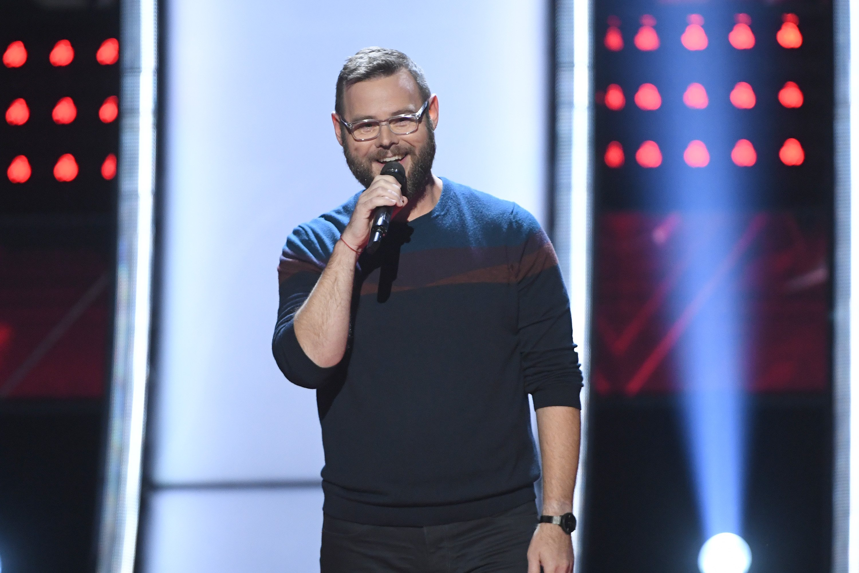 """THE VOICE -- """"Blind Auditions"""" Episode 1801 -- Pictured: Todd Tilghman 