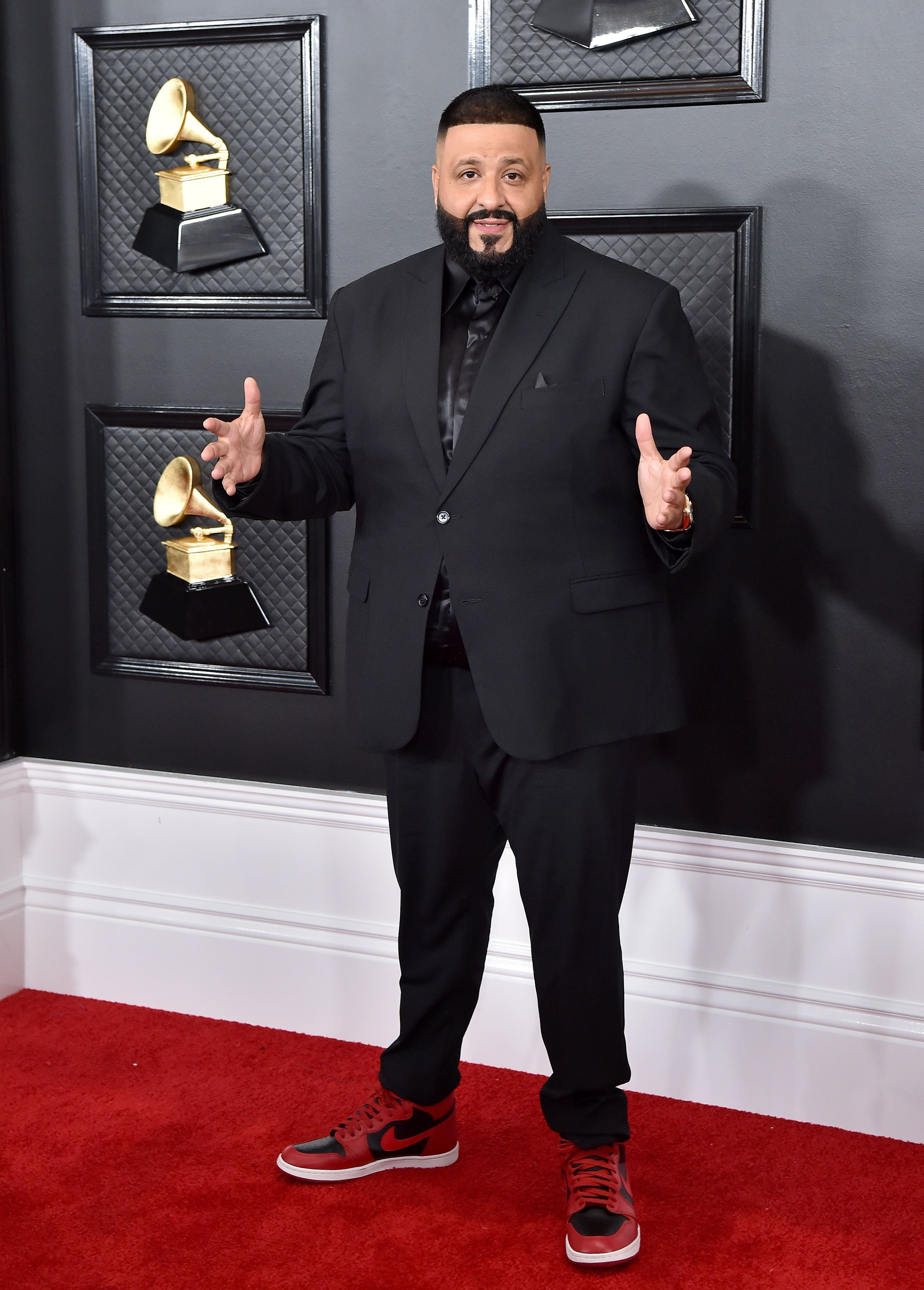 DJ Khaled attends the 62nd Annual GRAMMY Awards at Staples Center on January 26, 2020 in Los Angeles, California.   Source: Getty Images