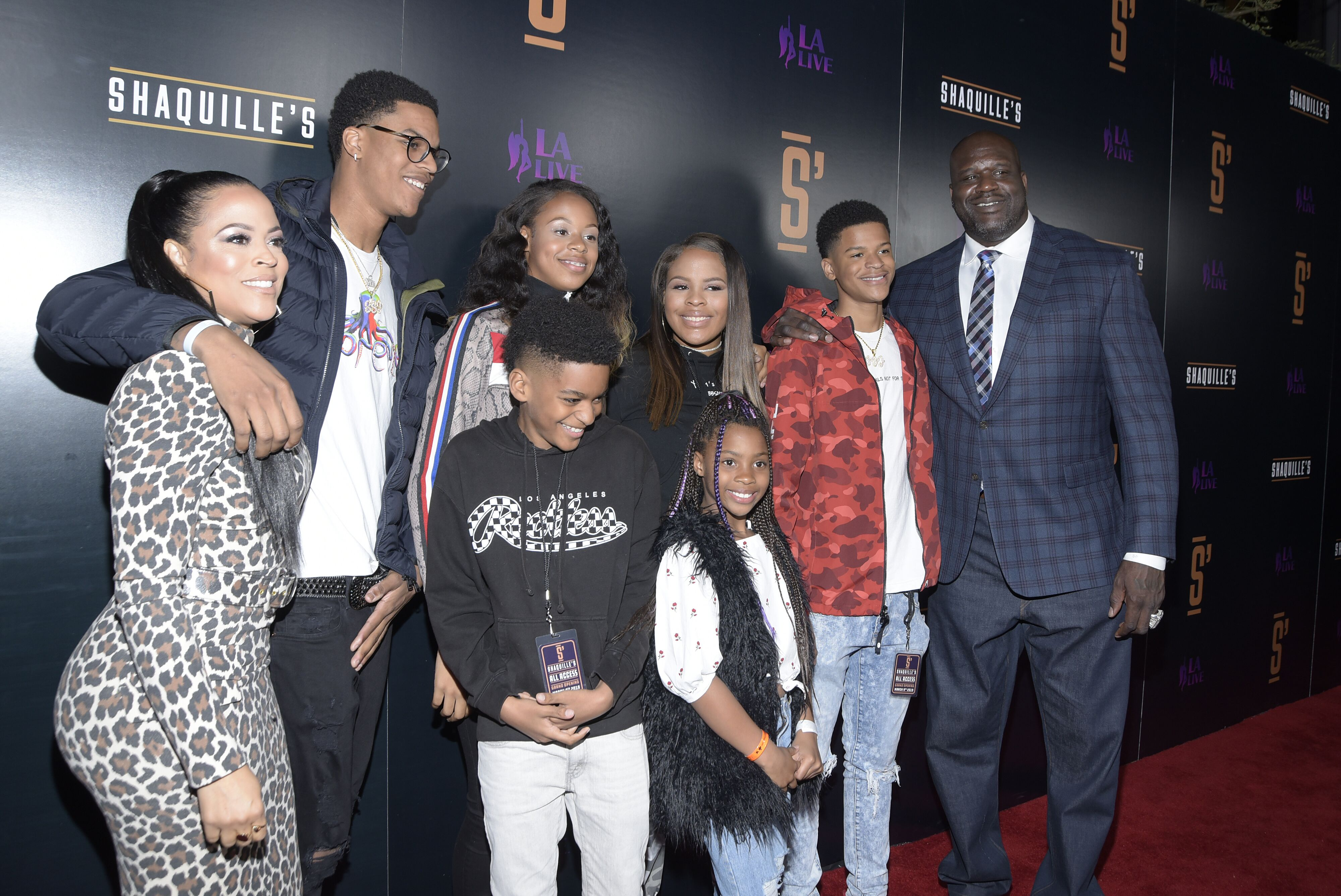 Shaunie O'Neal and family attend the grand opening of Shaquille's At L.A. on March 09, 2019 in Los Angeles, California. | Photo: Getty Images