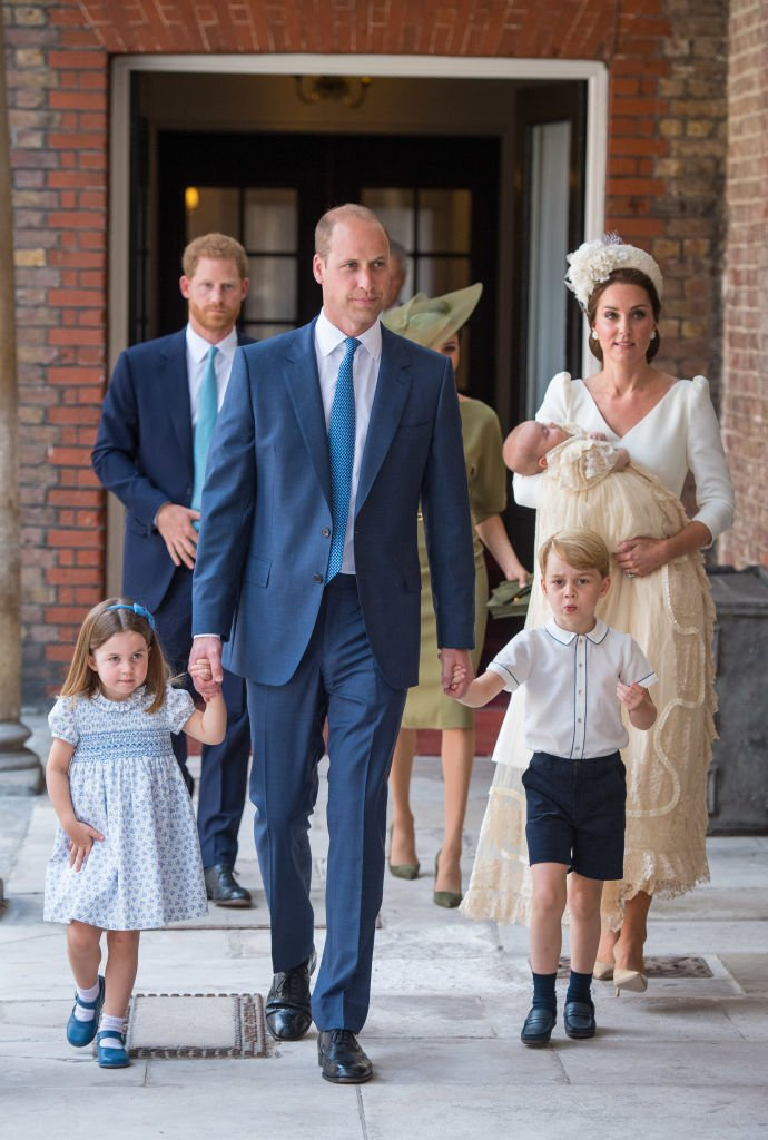 The Cambridges and the Sussexs at the Chapel Royal, St James's Palace, on July 09, 2018 in London, England | Photo: Getty Images