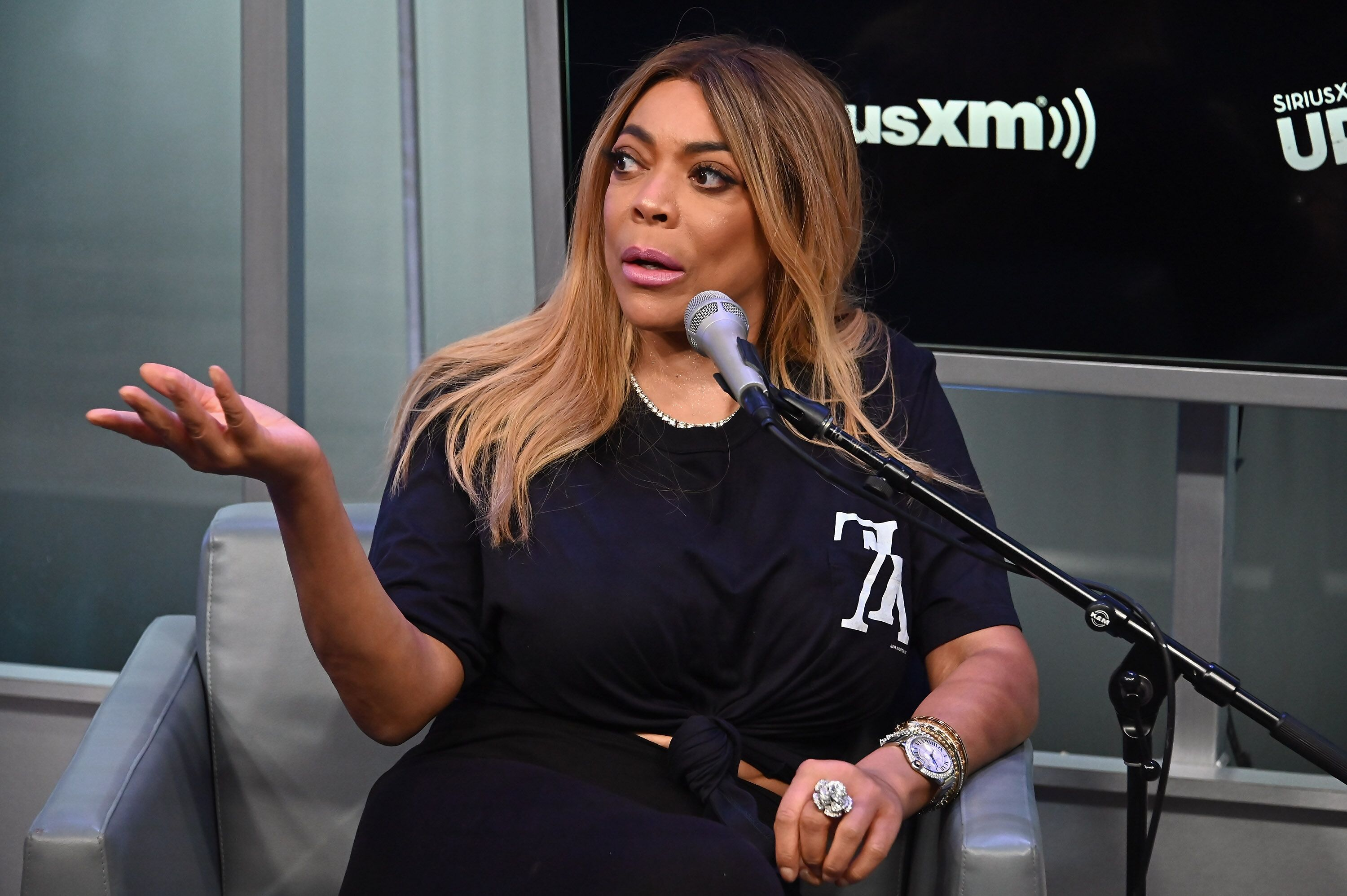 Wendy WIlliams attends a SiriusXM Interview | Source: Getty Images/GlobalImagesUkraine