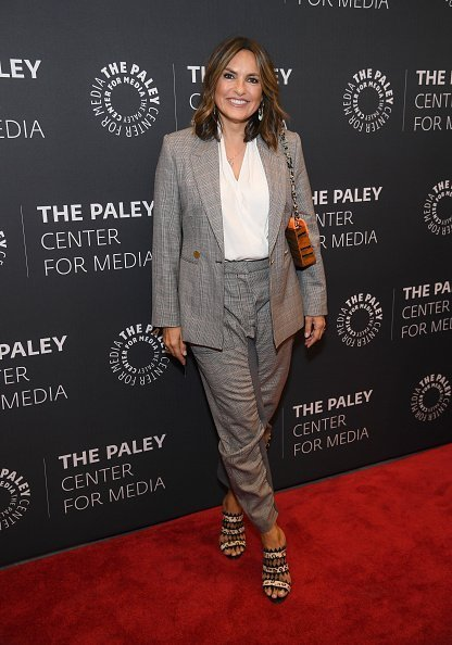 "Mariska Hargitay attends the ""Law & Order: SVU"" Television Milestone Celebration at The Paley Center for Media on September 25, 2019 in New York City. 