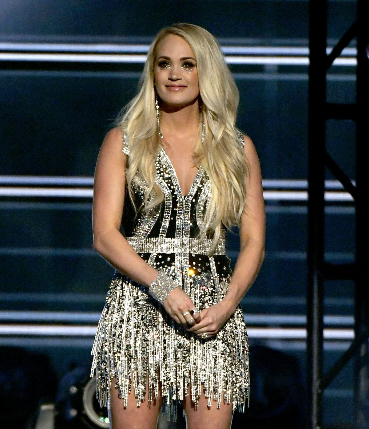 Carrie Underwood at the 53rd Academy of Country Music Awards on April 15, 2018 | Photo: Getty Images