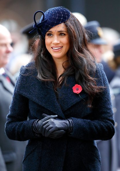 Meghan, Duchess of Sussex attends the 91st Field of Remembrance at Westminster Abbey on November 7, 2019 in London, England | Photo: Getty Images