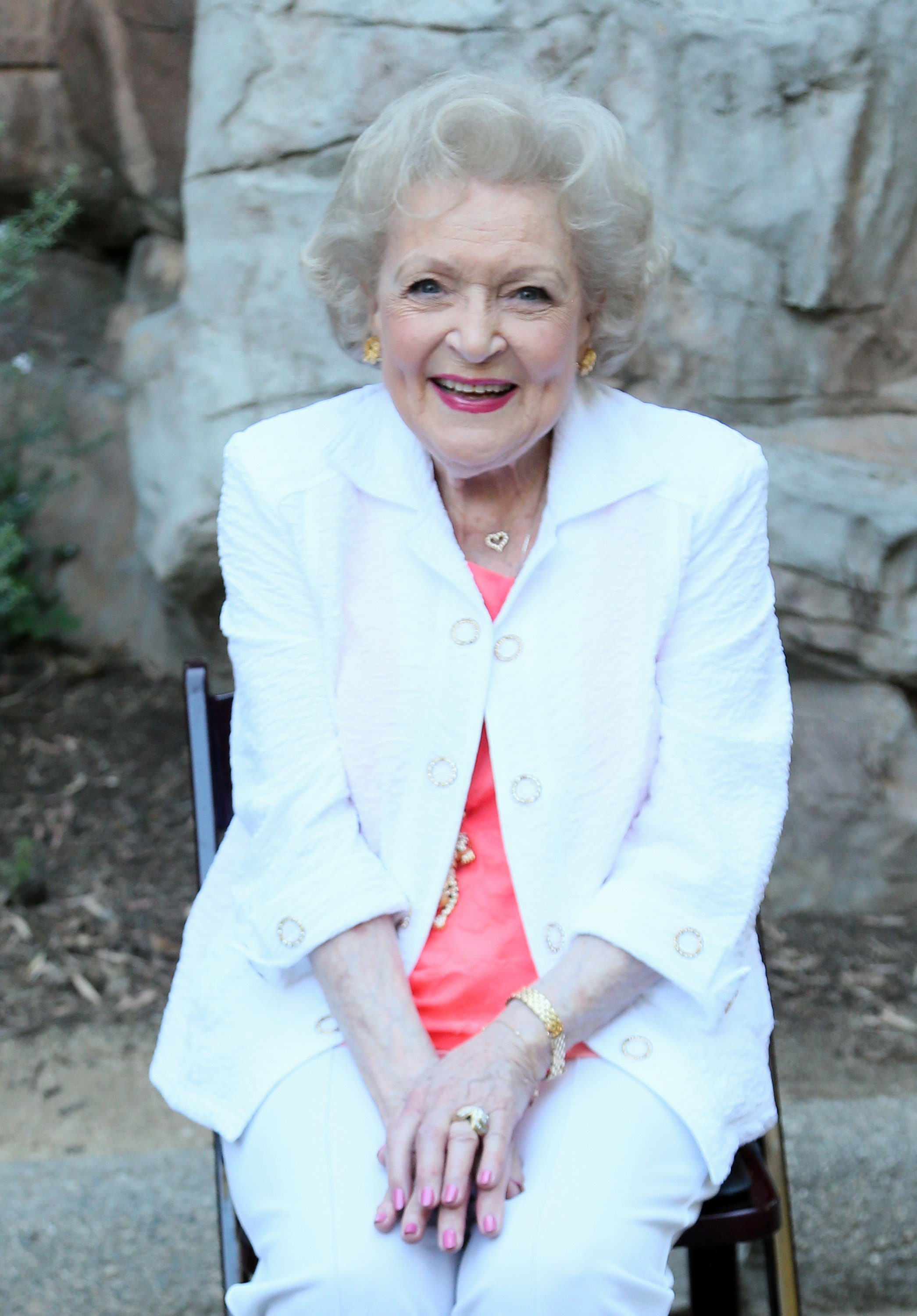 Betty White attends the Greater Los Angeles Zoo Association's (GLAZA) 45th Annual Beastly Ball on June 20, 2015, in Los Angeles, California. | Source: Getty Images.