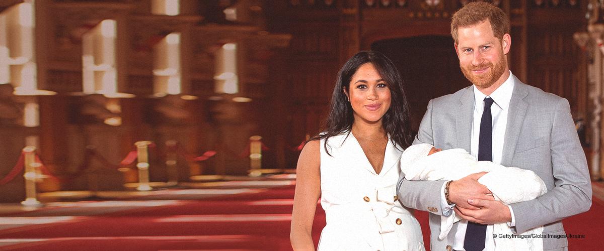 Meghan et le prince Harry ont finalement montré le visage de leur adorable fils (Photos)