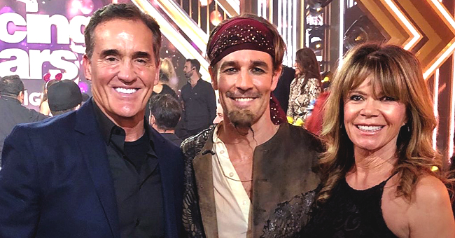 James Van Der Beek of DWTS Poses with His 'Dawson's Creek' Parents in a Reunion Photo