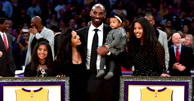 Kobe & Vanessa Bryant's Oldest Daughter Natalia Poses in Front of Late Dad & Sister Gigi's Mural in Photo