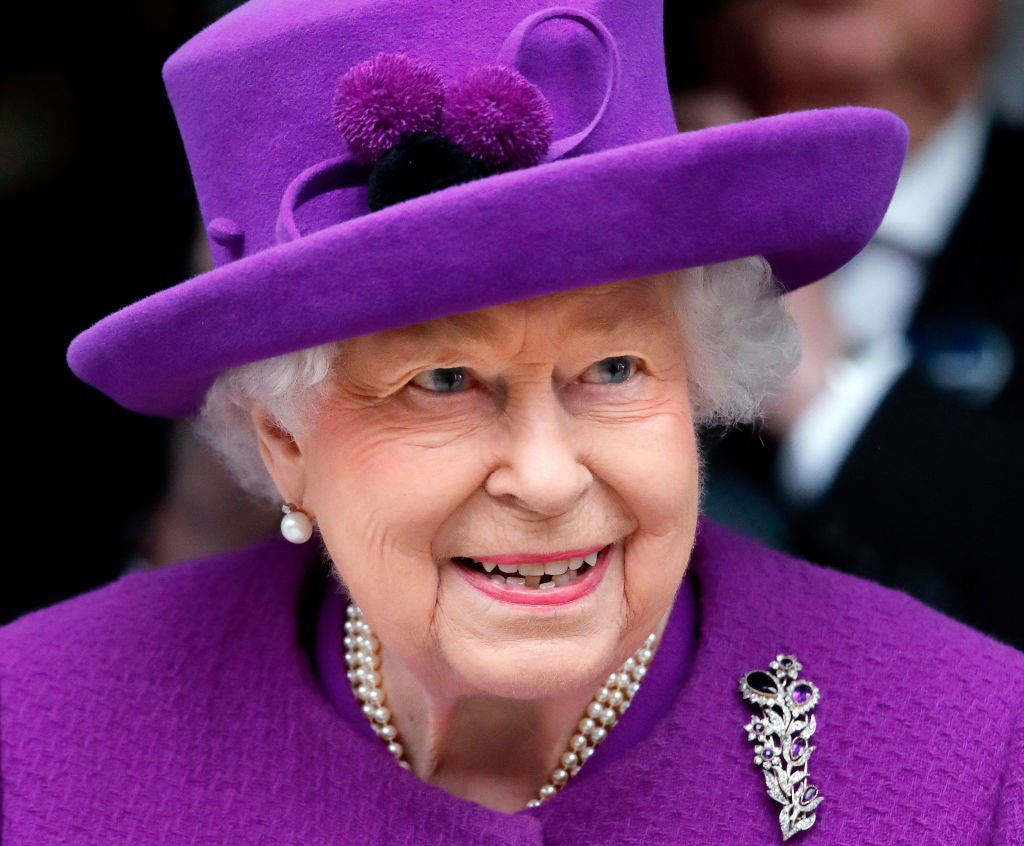 Queen Elizabeth II opens the new premises of the Royal National ENT and Eastman Dental Hospitals in London, England on February 19, 2020. | Photo: Getty Images