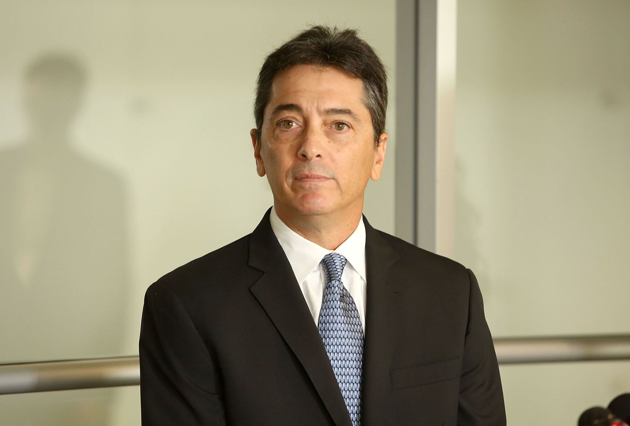 Scott Baio attends a news conference to discuss harassment allegations  | Getty Images / Global Images Ukraine