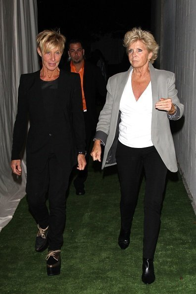Nancy Locke and actress Meredith Baxter as seen on August 10, 2013 | Photo: Getty Images