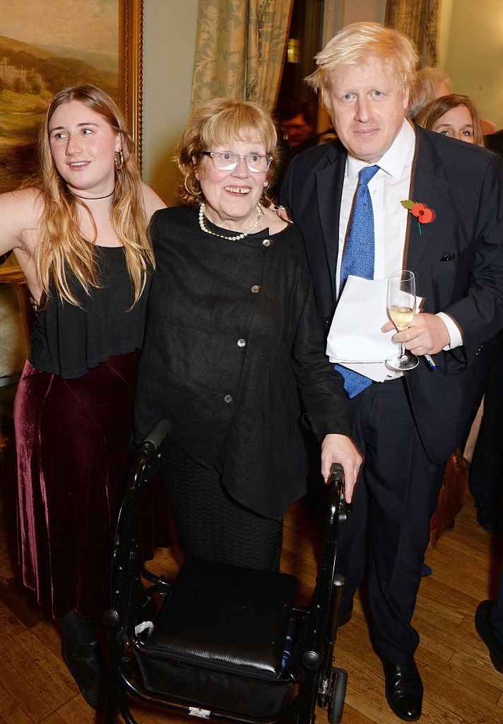 Lara, Boris Johnson, and his mother Charlotte on October 22, 2014 in London, England | Photo: Getty Images