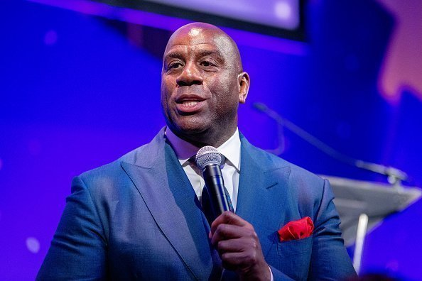 Magic Johnson on November 20, 2019 in New York City | Photo: Getty Images