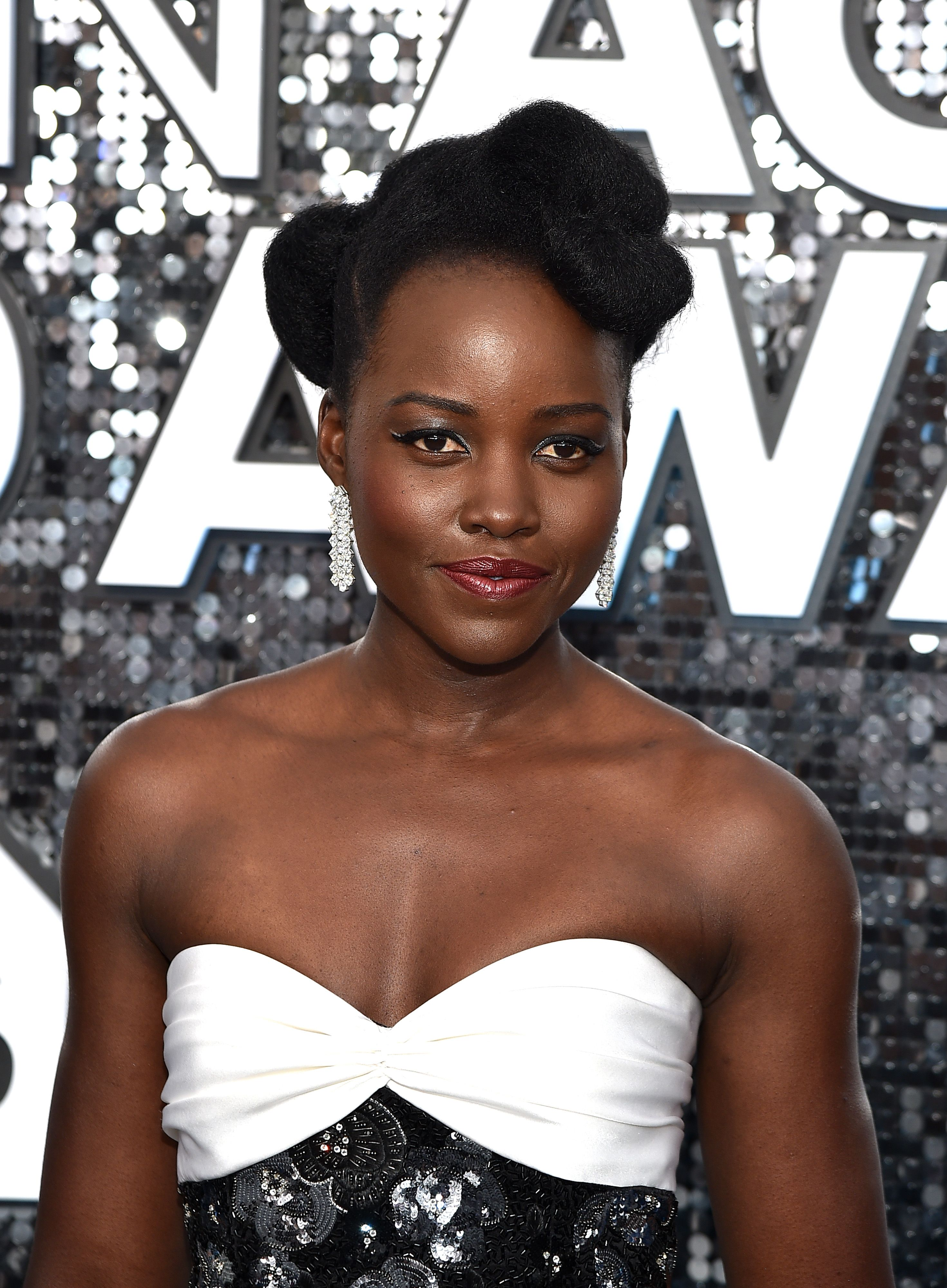 Lupita Nyong'o at the Annual Screen Actors Guild Awards on January 19, 2020 in Los Angeles. | Photo: Getty Images