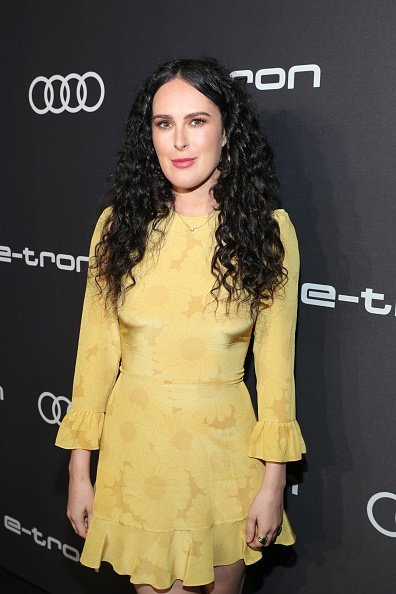 Rumer Willis at the Audi pre-Emmy celebration at Sunset Tower in Hollywood.| Photo: Getty Images.