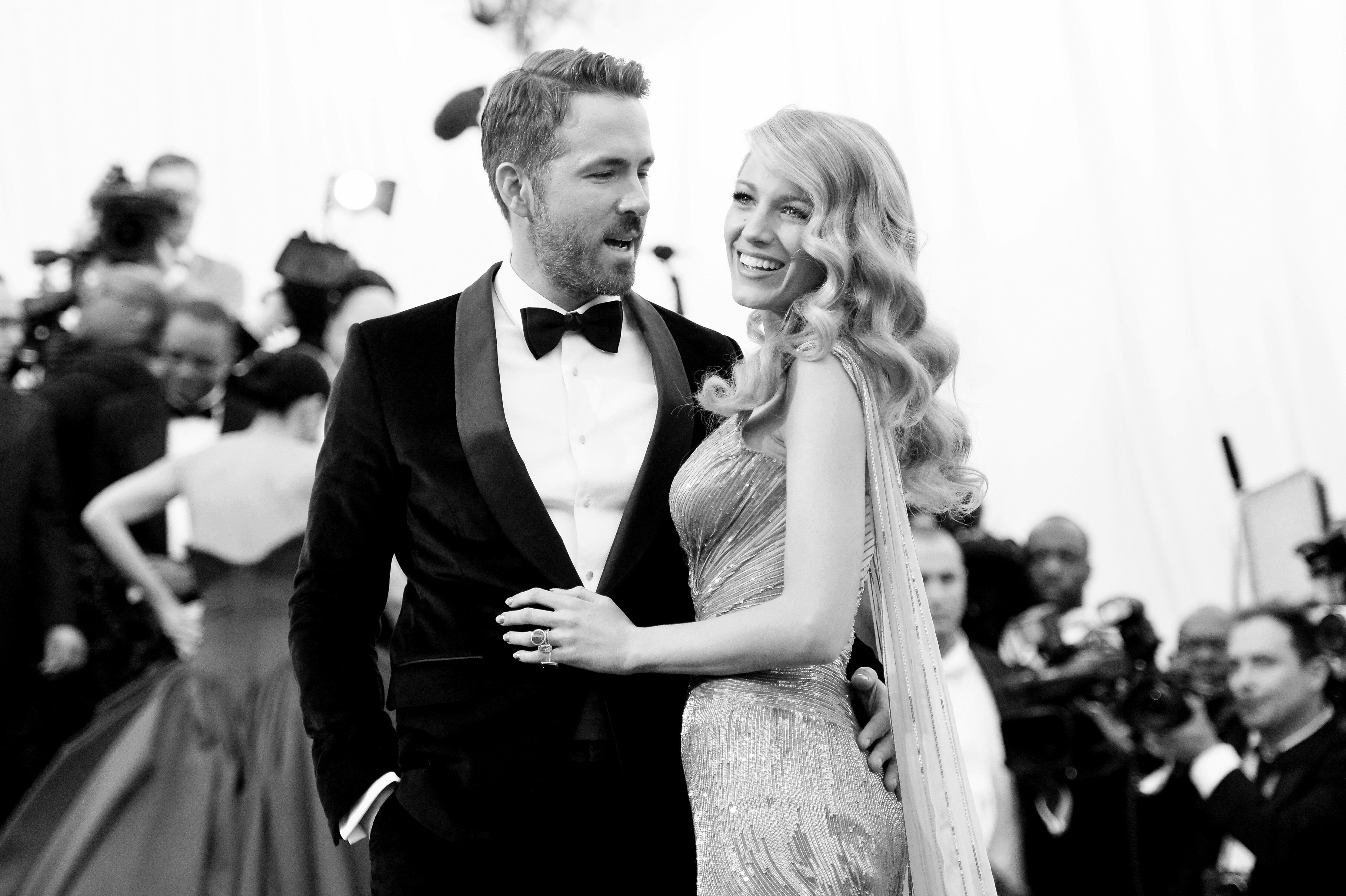 """Ryan Reynolds and Blake Lively attend the """"Charles James: Beyond Fashion"""" Costume Institute Gala. 