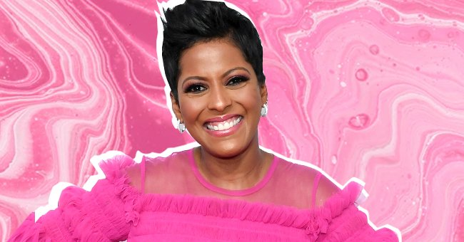 Tamron Hall Flaunts Ample Cleavage in Chic Dress Posing on Boat with Her Rarely-Seen Husband