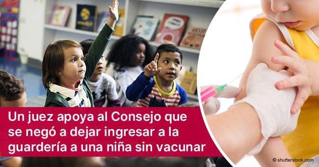 Guardería en Barcelona se negó a aceptar a niño sin vacunas y juez apoyó esta decisión