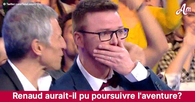 Renaud a été éliminé de N'oubliez pas les paroles par erreur? Voici les explications