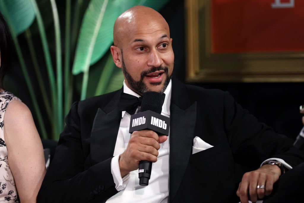 Keegan-Michael Key speaks onstage at IMDb LIVE Presented By M&M'S At The Elton John AIDS Foundation Academy Awards Viewing Party on February 09, 2020.   Photo: Getty Images