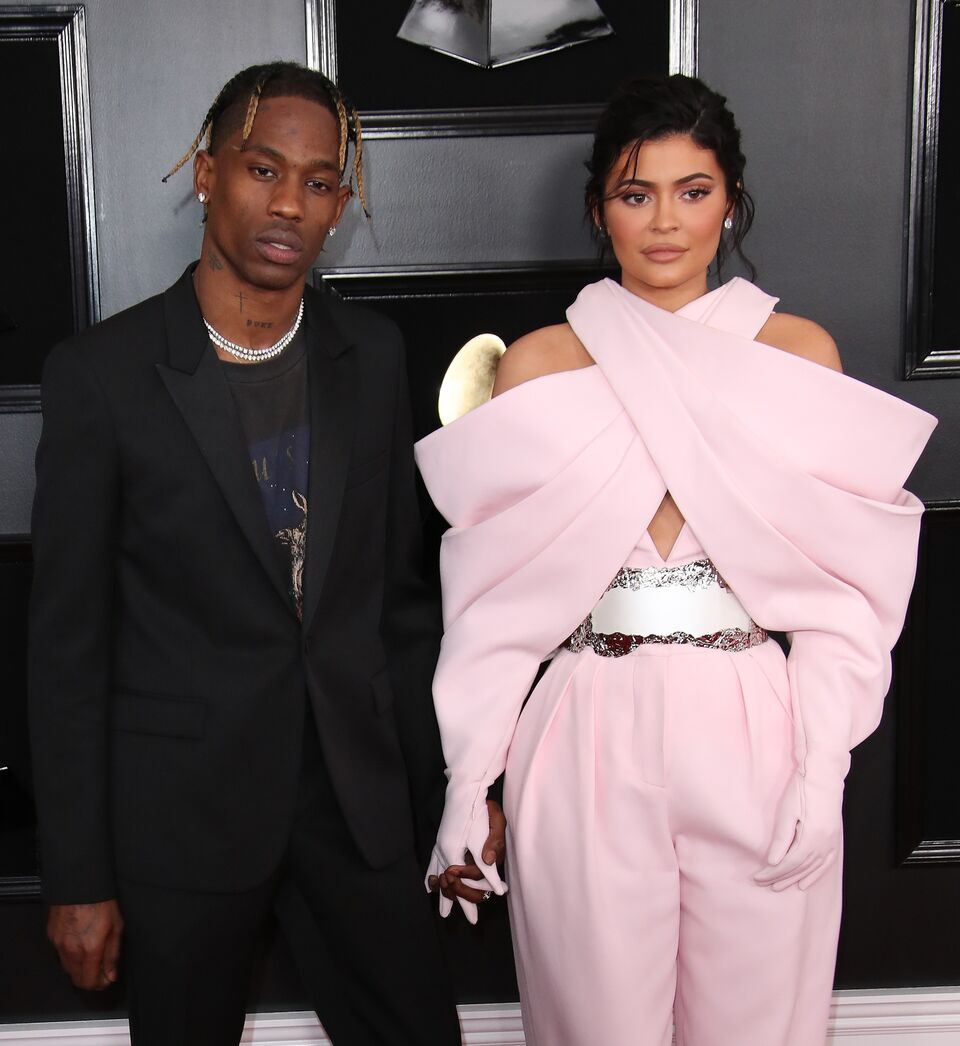 Travis Scott and Kylie Jenner attend the 61st Annual GRAMMY Awards. | Source: Getty Images