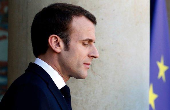 Le président français Emmanuel Macron reçoit la chancelière allemande Angela Merkel au Palais de l'Elysée à Paris | Photo / Getty Images
